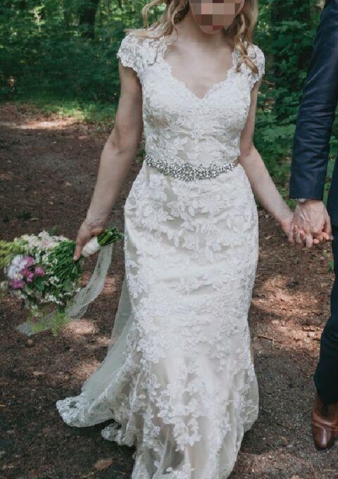 Second Hand Brautkleid | Ella Rosa | Boho | Gr. 36