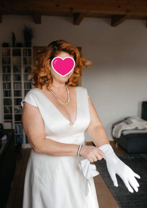 Second Hand Brautkleid | Jesús Peiró | A-Linie | Gr. 42 | Maßgeschneidert