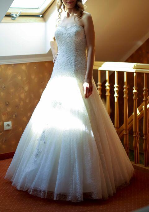 Second Hand Brautkleid | Meerjungfrau | Gr. 36