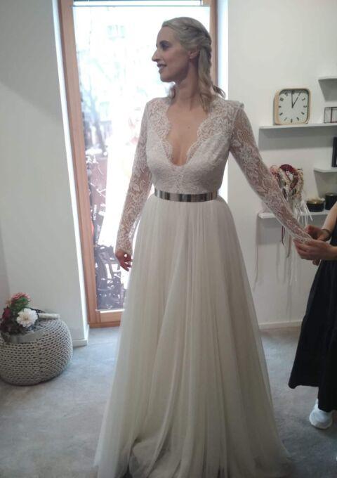 Second Hand Brautkleid | Daalarna Couture | A-Linie | Gr. 38