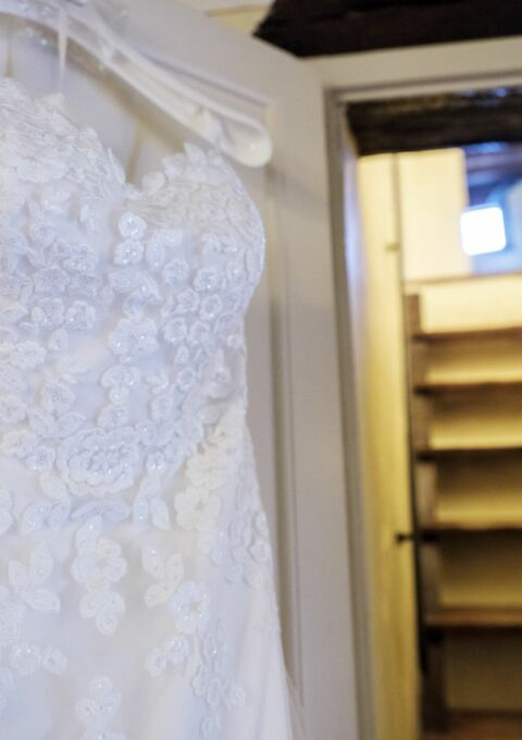 Second Hand Brautkleid | White One / St. Patrick / Pronovias | Meerjungfrau | Gr. 40