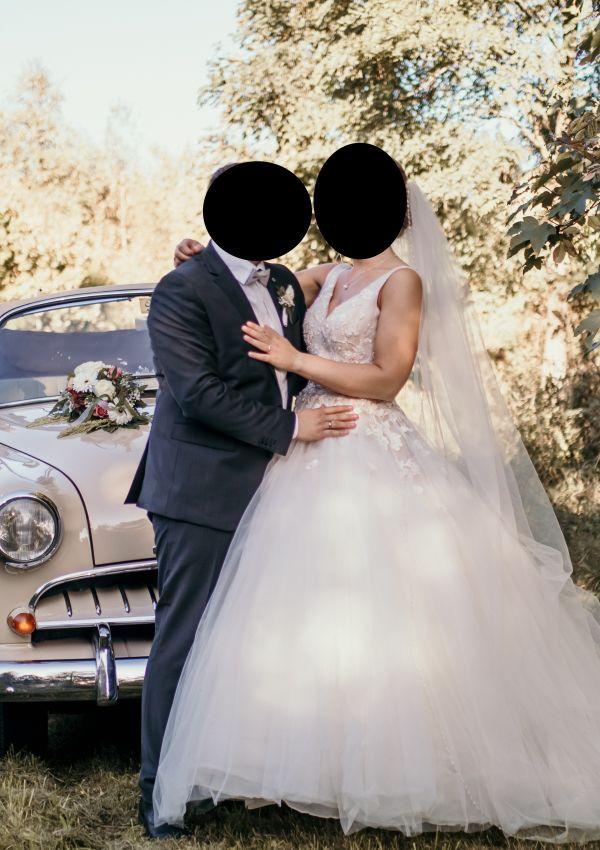 Second Hand Brautkleid | Justin Alexander | Prinzessin | Gr. 34