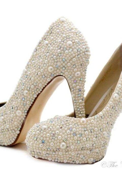 Brautschuh | The Crystal Shoe Co | High Heels
