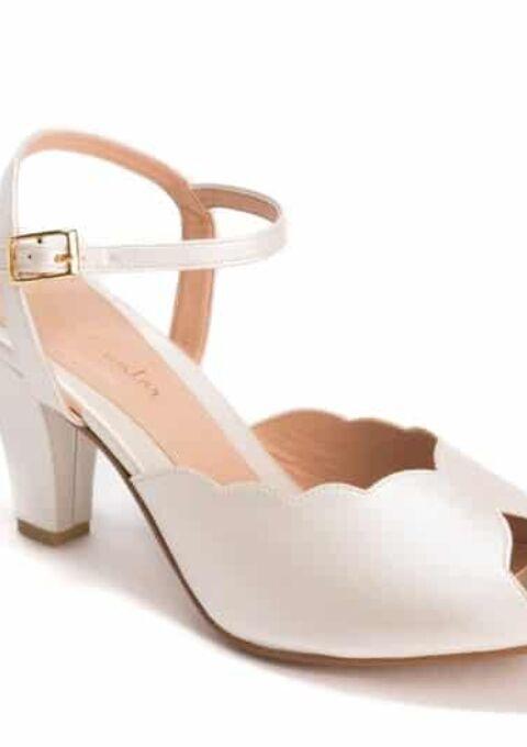 Brautschuh | Roni Kantor Shoes | Adina | Peep-Toes | Sandaletten