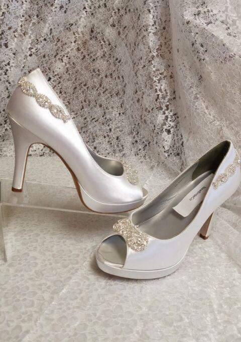 Brautschuh | New Bride Co | Peep-Toes | Pumps