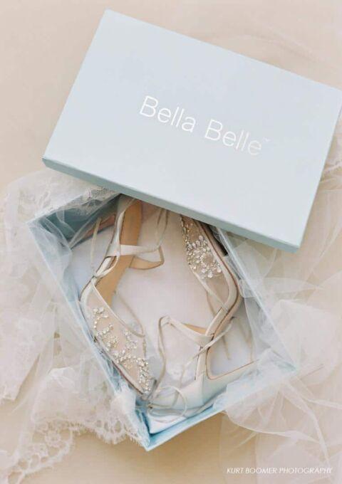 Brautschuh | Bella Belle | Florenz | High Heels