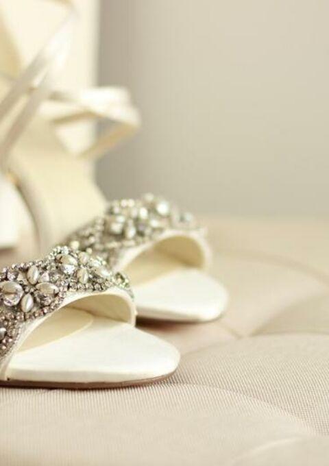 Brautschuh | Chic Feet Designs | Sandaletten