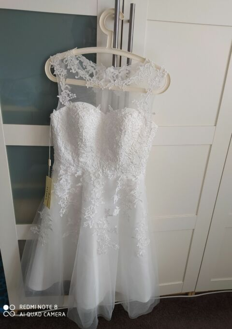 Second Hand Brautkleid | Standesamt | Gr. 38