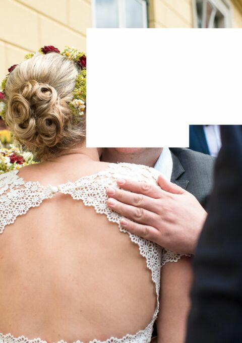 Second Hand Brautkleid | Lillion West Stil 6508 | A-Linie | Gr. 38 | Stil 6508