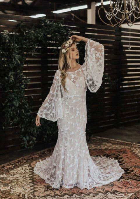 Brautkleid | DreamersandLovers | Samantha Engel | Boho | Meerjungfrau | Maßgeschneidert