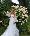 Brautkleid | Bliss Gown | Boho | Umstandskleid | A-Linie | Maßgeschneidert