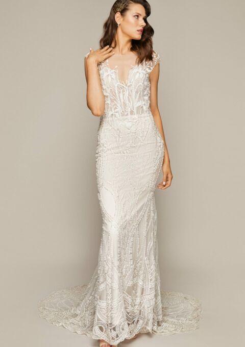 Brautkleid | Áva Fonte | EMERALD | Meerjungfrau | Maßgeschneidert