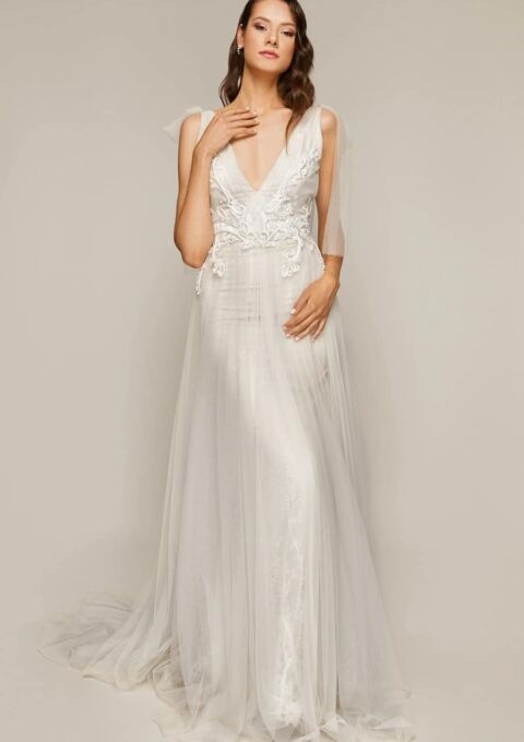 Brautkleid | Áva Fonte | AMAYA | Meerjungfrau | Maßgeschneidert