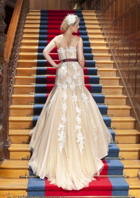 Brautkleid | Semiha Bähr Couture | Anna3634 | Meerjungfrau | Gr. 38 | Einzelstück