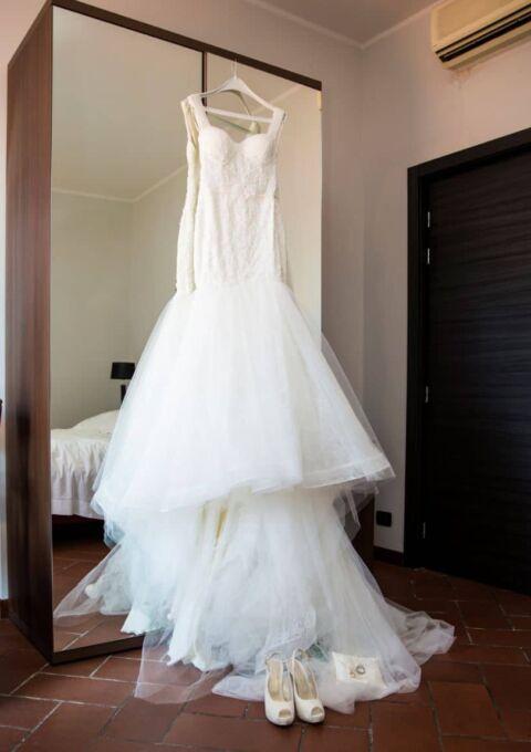 Second Hand Brautkleid | Madam Burcu | Meerjungfrau | Gr. 34