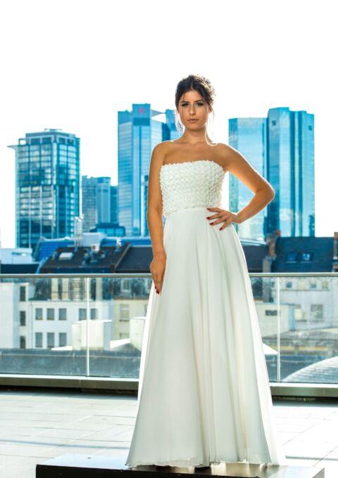 Brautkleid | Semiha Bähr Couture | Dalinda839 | Empire | Gr. 38 | Einzelstück