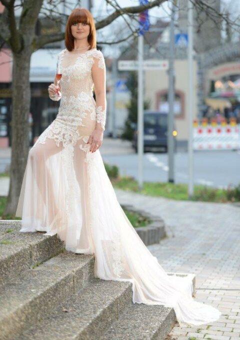 Brautkleid | Semiha Bähr Couture | Miranda | Meerjungfrau | Gr. 38 | Einzelstück