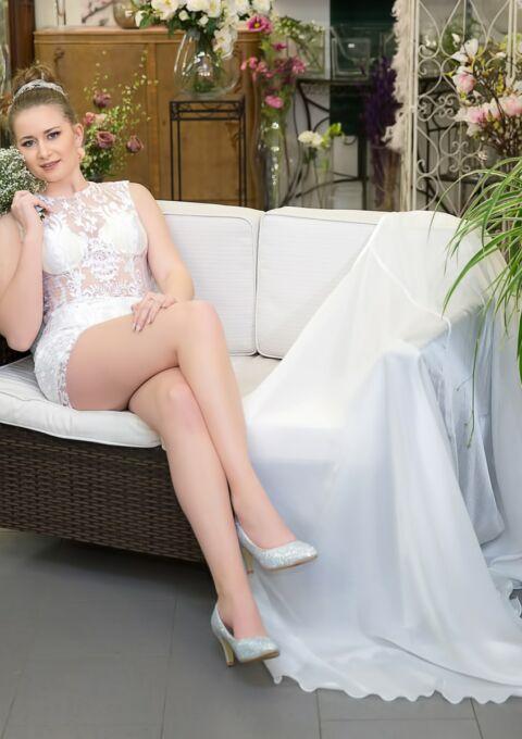 Brautkleid | Semiha Bähr Couture | Gala-2121 | Zweiteiler | Maßgeschneidert