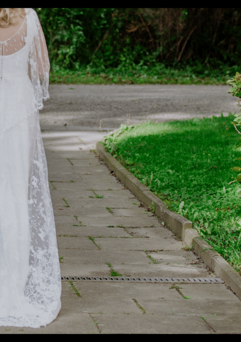 Second Hand Brautkleid | Rembo Styling | Boho | Gr. 44