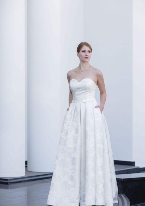 Brautkleid   Semiha Bähr Couture   Evren   A-Linie   Maßgeschneidert