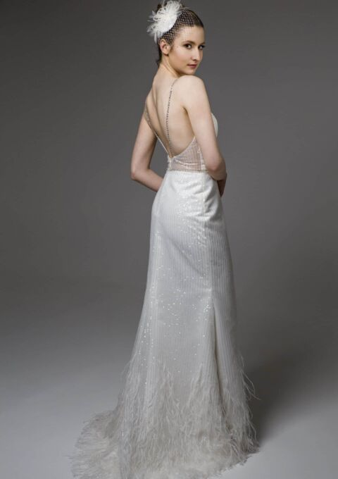 Brautkleid   Semiha Bähr Couture   Flavia2006   Fit and Flare   Maßgeschneidert