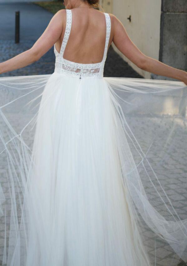 Second Hand Brautkleid | Aire Barcelona | Sonstiges | Gr. 36