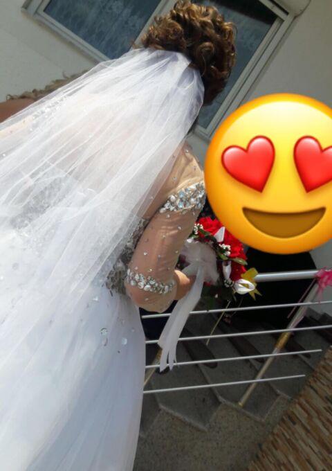Second Hand Brautkleid | 2222 | Prinzessin | Gr. 42 | Maßgeschneidert