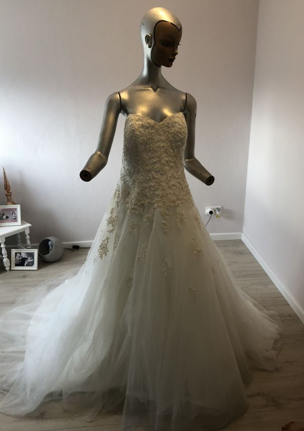Second Hand Brautkleid | Sincerity Bridal / Justin Alexander | A-Linie | Gr. 44