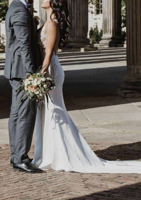 Second Hand Brautkleid | Monika Loretti | Sonstiges | Gr. 34