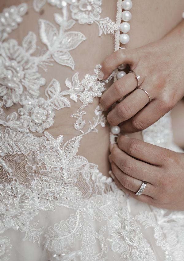 Second Hand Brautkleid   Anna Kuznetcova   Prinzessin   Gr. 36   Maßgeschneidert