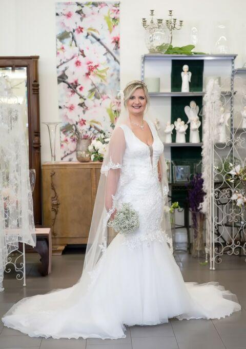 Brautkleid | Semiha Bähr Couture | Gamse2124 | Meerjungfrau | Gr. 44