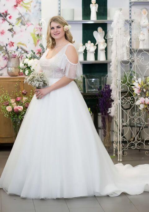 Brautkleid | Semiha Bähr Couture | Guljana2126 | A-Linie | Prinzessin | Gr. 44 | Einzelstück