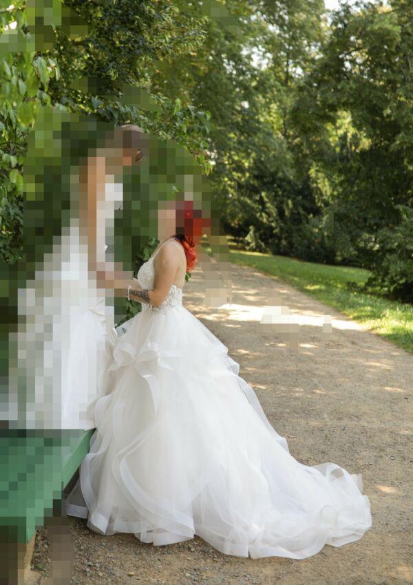 Second Hand Brautkleid | Prinzessin | Gr. 36 | Maßgeschneidert