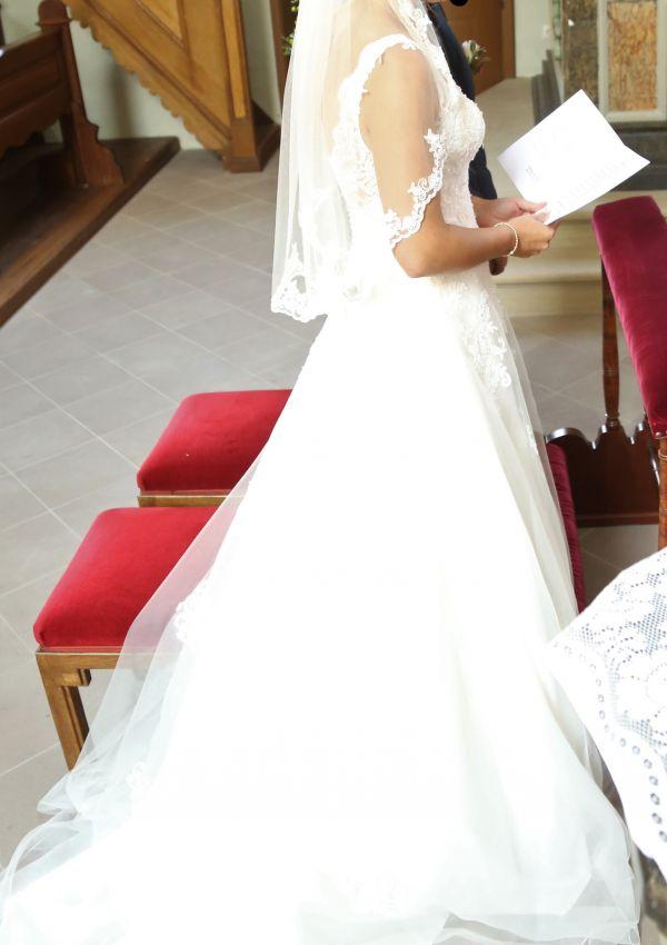 Second Hand Brautkleid | Affezione Electra | Prinzessin | Gr. 38