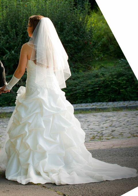 Second Hand Brautkleid | Weise Fashion | A-Linie | Gr. 40