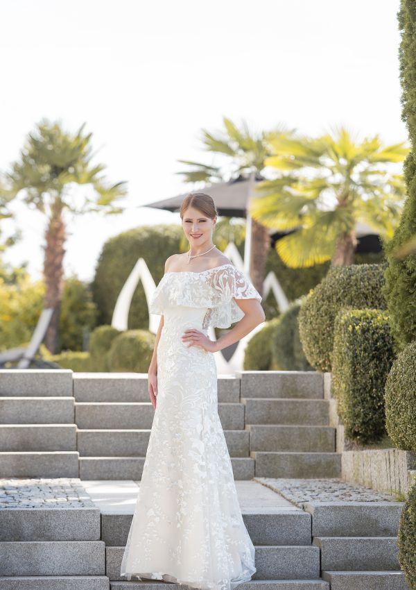 Brautkleid | Semiha Bähr Couture | Ferina2005 | Fit and Flare | Maßgeschneidert