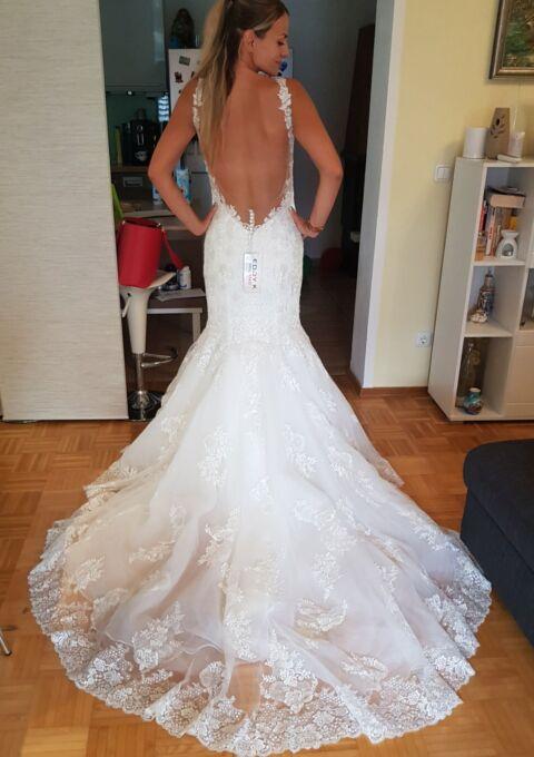 Second Hand Brautkleid | Eddy K | Meerjungfrau | Gr. 38