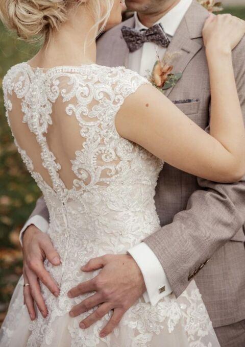 Second Hand Brautkleid | Diane Legrand | Diane Legrand 7618 | A-Linie | Gr. 38 | Maßgeschneidert