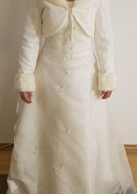 Second Hand Brautkleid | Valérie / Kleemeier | Valerie 13630 8787 | A-Linie | Gr. 40 | Maßgeschneidert