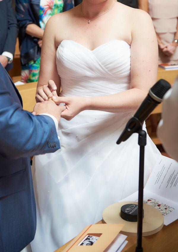 Second Hand Brautkleid | Lilly | A-Linie | Gr. 40 | Maßgeschneidert
