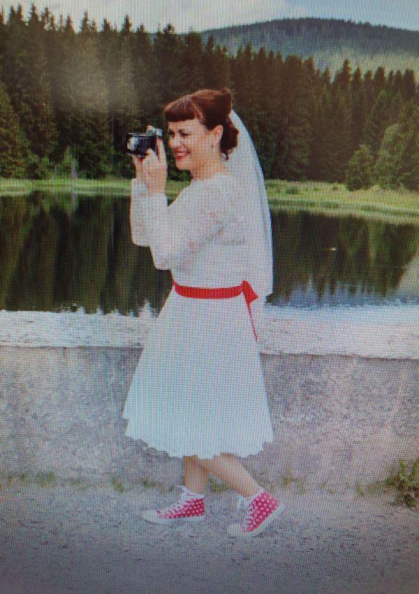 Second Hand Brautkleid | lindegger. küssdiebraut | A-Linie | Gr. 42
