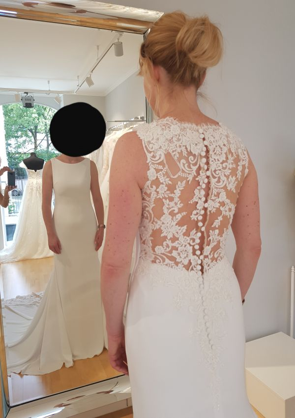 Second Hand Brautkleid | Pronovias Barcelona | Meerjungfrau | Gr. 36