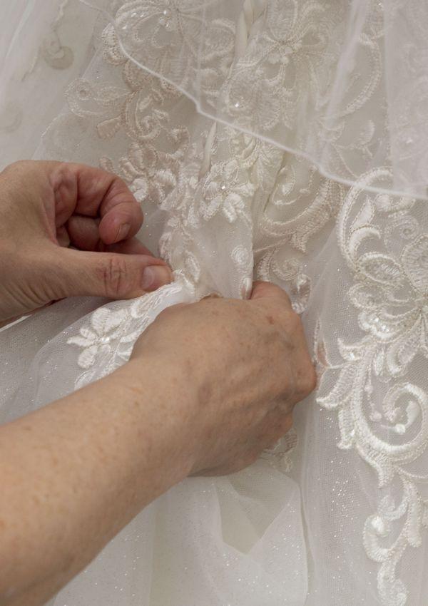 Second Hand Brautkleid | Prinzessin | Gr. 38 | Maßgeschneidert