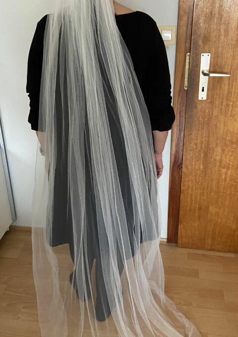 Second Hand Brautkleid | Pronovias Barcelona | Boho | Gr. 42 | Neu & ungetragen