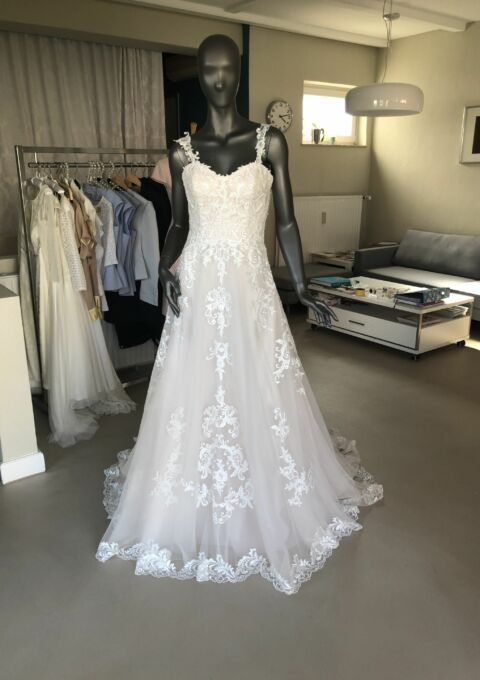 Second Hand Brautkleid | Sincerity Bridal / Justin Alexander | A-Linie | Gr. 36 | Neu & ungetragen