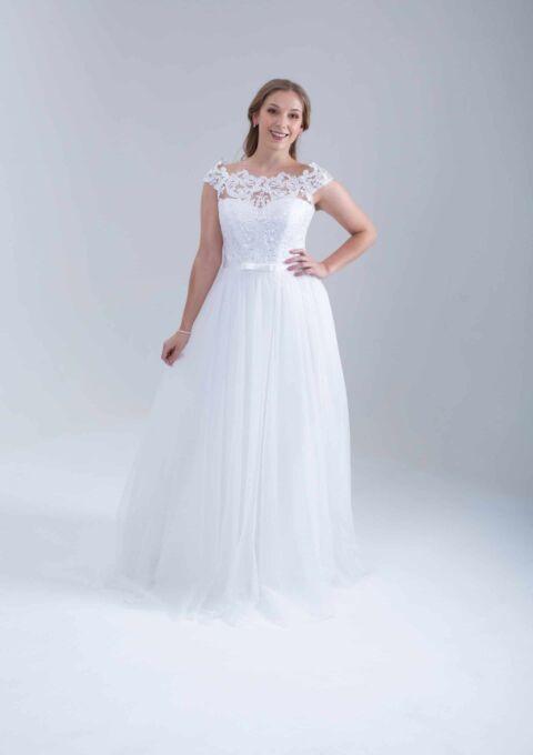 Brautkleid | BrautStyle24 | 0238A | Standesamt | A-Linie