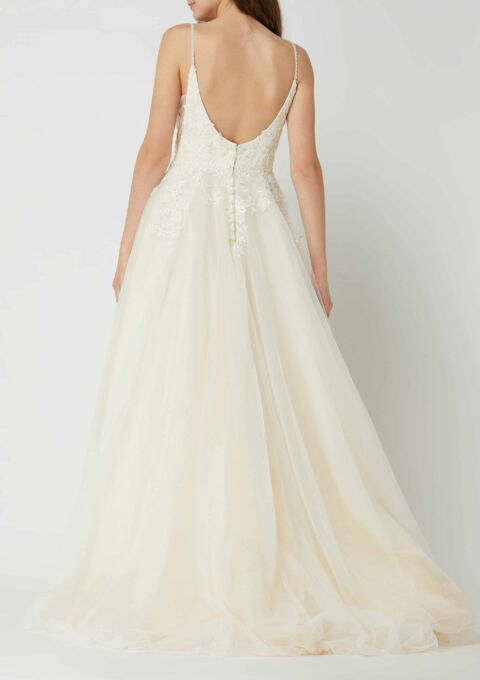 Brautkleid   Luxuar Magic Bride   A-Linie   Gr. 42