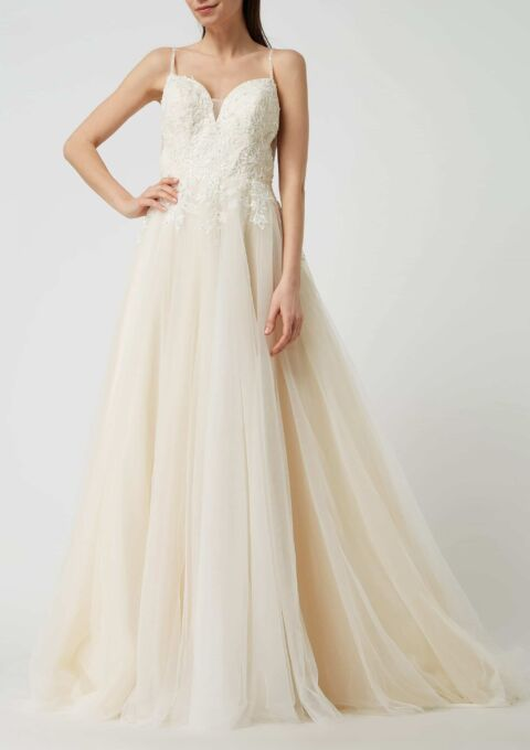 Brautkleid | Luxuar Magic Bride | Standesamt | A-Linie