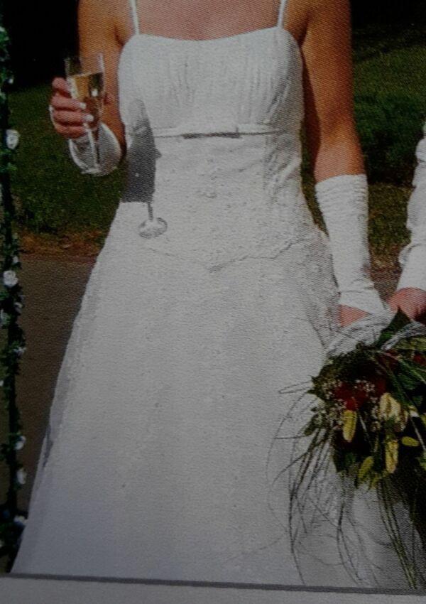 Second Hand Brautkleid   Lohrengel   A-Linie   Gr. 38