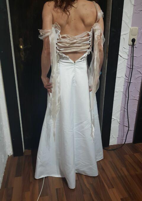 Second Hand Brautkleid | Einzelanfertigung | Sonstiges | Gr. 34 | Maßgeschneidert